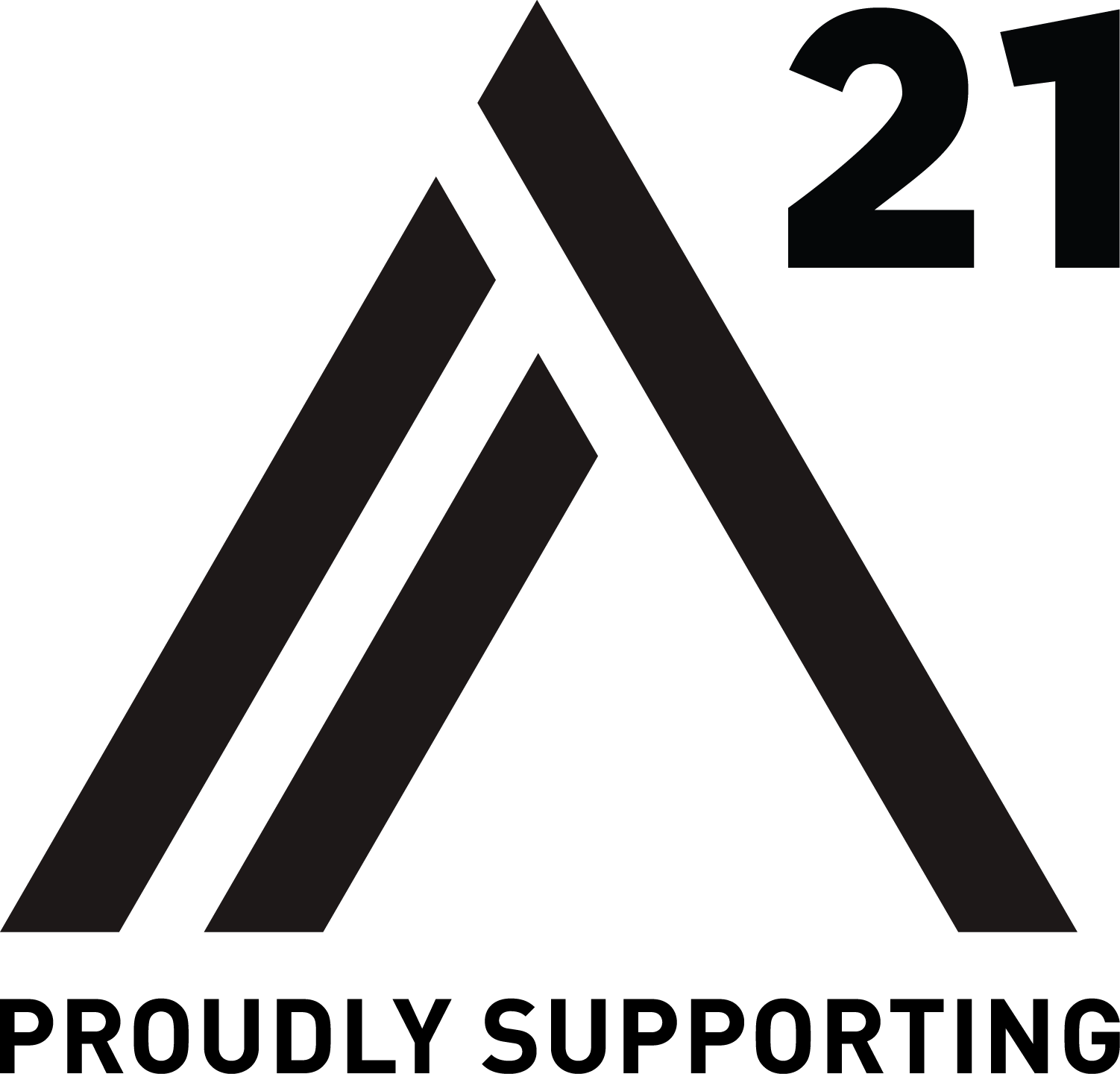 Proudly supporting A21 anti-slavery charity
